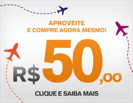 passagens aéreas promocionais R$10